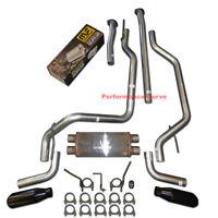 "2009 - 2019 Toyota Tundra Performance Dual Exhaust Kit w/ 18"" Magnaflow Muffler"