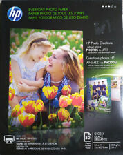 HP Q8723A Everyday Glossy Photo Paper 50 Sheets, 8.5 x 11 in, 53 lb, 200 GSM