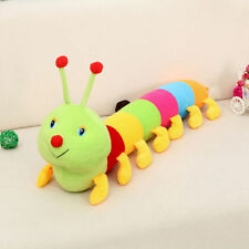 New Colorful Inchworm Soft Lovely Cute Developmental Kids Baby Toy Doll Toy
