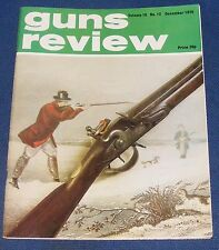 GUNS REVIEW MAGAZINE DECEMBER 1976 - A SHORT HISTORY OF THE MAUSER LUGER