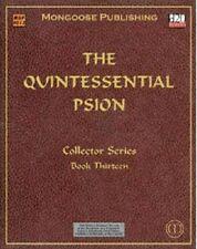 El libro de la Serie para Coleccionistas Quintessential Psion-Trece-D20-MGP4013