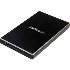 "Startech.com Usb 3.1 [10 Gbps] Enclosure For 2.5"" Sata Drives - Ultra-fast,"