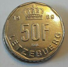 50 Francs 1987 <<==>>> 1991 Luxemburg - Luxembourg KM#62 KM#66