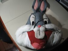 "18"" plush Bugs Bunny pillow, good condition"