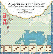 WEBSTERS PAGES JOURNALING CARDS FOR SCRAPBOOKING GAME ON COLLECTION