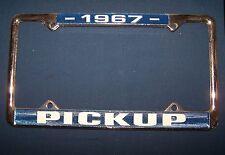 License Plate Frame - 1967 Pickup