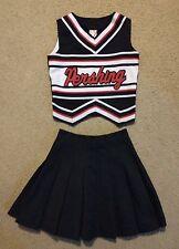 Genuine Real Pershing Generals CDT Cheer Cheerleading Uniform Red White Black