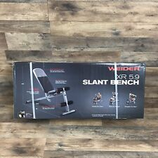 Weider Golds Gym Adjustable Slant Incline Workout Weight Bench XR 5.9 Home Gym