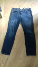 Ladys Next Relaxed Skinny Mid Rise Blue Jeans Size 10 Regular