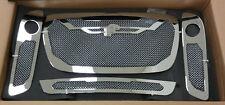 FORGIATO MESH GRILL KIT CHRYSTLER 300 V6 2012 grille grilles grills weave chrome