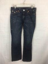 True Religion Jeans Women's Size 29 Blue Denim 5 Pocket Boot Cut B11*U