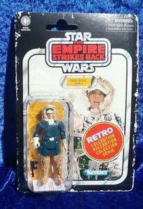 "STAR WARS THE EMPIRE STRIKES BACK | KENNER RETRO HAN SOLO (HOTH) 3.75"" FIGURE 
