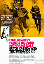 Butch Cassidy And The Sundance Kid - 1969 - Movie Poster
