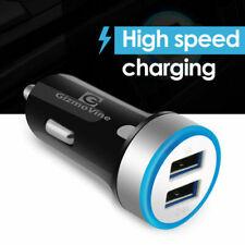 Cargador USB de Coche Mini Doble Puerto Adaptador de 5A de alta velocidad 4 iPhoneXS MAX iPad Samsung