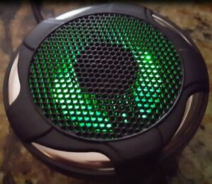 "3.5"" Boat Spa Cart 2-Way Marine Speaker PAIR VX-S132BXTRGB LED Lighted Lit 60W"