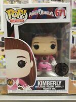 Funko Pop! TV Power Rangers Pink Ranger unmasked #671 Kimberly 25th Anniversary