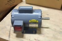 """Baldor Thermally Protected Motor L1304A 1/2 HP 1725 RPM 115 V 5/8"""" Shaft"""