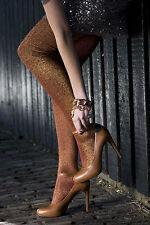 Bonnie Doon Strumpfhose Modell: COTTON/LUREX TIGHTS  Gr. S Black/Silver  Neu