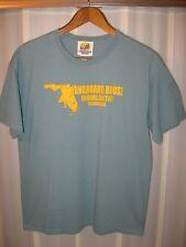 Longboard House Indialantic Florida USA East Coast Surfing Surf Beach T Shirt Lg