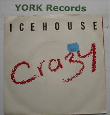 """ICEHOUSE - Crazy - Excellent Condition 7"""" Single Chrysalis CHS 3156"""