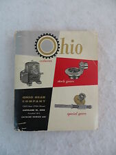 OHIO GEAR COMPANY CATALOG NUMBER 600 Spiral-bound