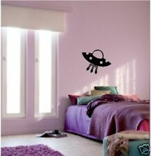 WALL ART vinyl decal sticker UFO bedroom nursery