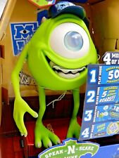 DISNEY PIXAR MONSTERS UNIVERSITY SPEAK-N-SCARE MIKE TOY, iPHONE 4 MODE TALKS!