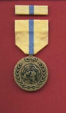 UN United Nations Award medal for Iraq Kuwait Mission with ribbon bar