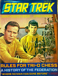 Star Trek Original Series Giant Poster Book Voyage 14 Tri-Dimensional Chess