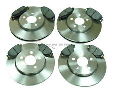FORD MONDEO MK3 2.0 DI TDCI 2000-2004 FRONT & REAR BRAKE DISCS AND PADS SET NEW