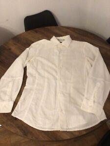 Armani Jeans Mens Tailored Slim Fit Shirt XL