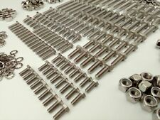 1500pc Stainless UNF Hex Bolts, Nuts & Washer CLASSIC MK1 LOTUS CORTINA Pack