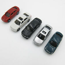 5 x Model Cars Vehicles 1:100 HO TT Scale Gauge Railway Layout Architecture Toy