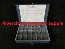Phillips Pan Sheet Metal Screw Assortment 18-8 Stainless With Metal Tray 1705pcs