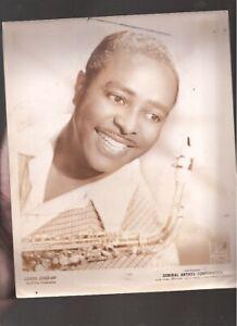 Vintage 1940's Louis Jordan publicity photo
