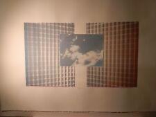 "Rare Print: ""Skywriter 3"" Susan Singleton Signed 100/285  44 x 30"" (Wang Labs AT"