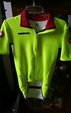 Castelli  Rosso Corsa Gabba Foul Weather Wind stopper Cycling Jacket Large