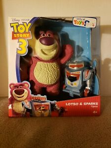 Disney Toy Story 3 Lotso & Sparks Figures
