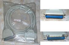 CABLE IMPRIMANTE DB-25 Male vers Centronics 36 Male IEEE1284 ( 2 mètres )