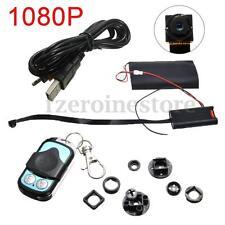 1080P Mini Spy Camera DV DVR DIY Module Hidden Wireless Monitor Remote Control