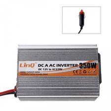 Inverter Di Potenza 350 Watt 12v 220v Convertitore Tasto On Off Linq P350w