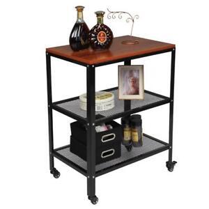 3Tier Kitchen Baker's Rack Utility Microwave Oven Stand Storage Cart Workstation
