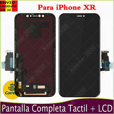PANTALLA PARA APPLE IPHONE XR LCD TACTIL DIGITALIZADOR COMPLETA MARCO NEGRO ES