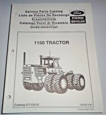 Ford 1150 Tractor Parts Catalog Manual Book 4/91 New Holland Versatile