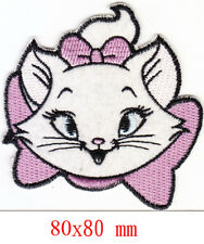Disney Marie kitty cat kitten adorable iron-on patch embroidered logo head tw