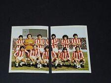 317-318 OLYMPIAKOS PIREE HELLAS UEFA C3 FOOTBALL BENJAMIN EUROPE 1980 PANINI