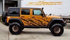Jeep Warrior-4 Door-Vinyl Decal Set for Jeep Wrangler, Vehicles, Custom Graphics