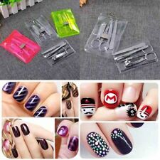Mini 5Pcs Set Manicure Tool Kits Nails Clippers Trimmers Pedicure Scissor Gift