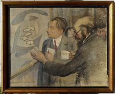 Henri Lemaire, 1930, Bénézit, Coté 3900€! Richard Chez Les Fauves!