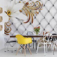 Tapete Fototapete Vlies Luxus-Blumen-Design